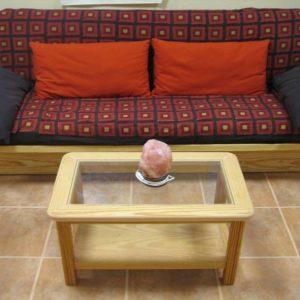 Mesa de centro Rectangular con Cristal