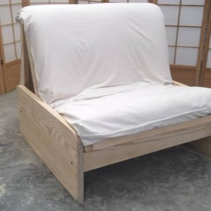 Sofá Fold Bed de 100 con Futon de Algodón