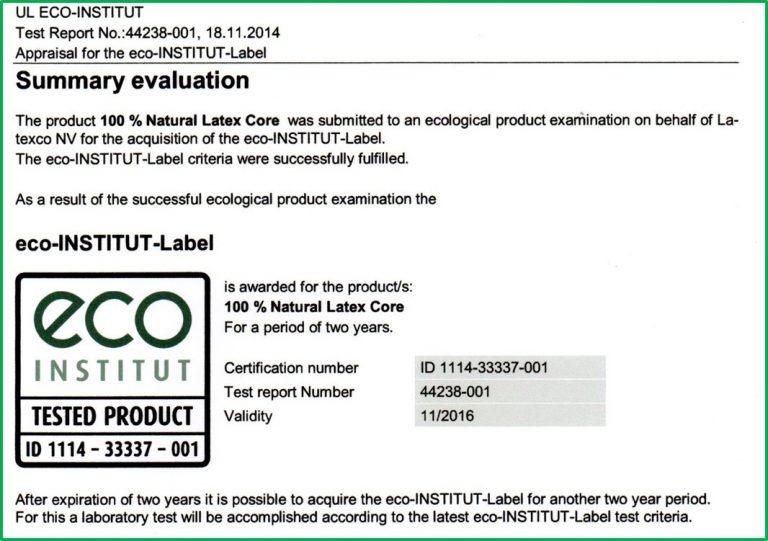 Colchón Látex Natural 100% de 150